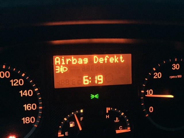 Airbag defekt?