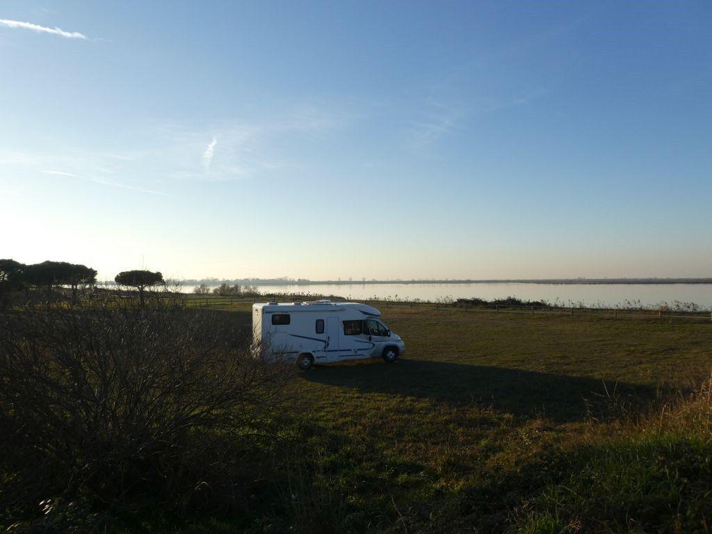 Parkplatz Nähe Porto Levante