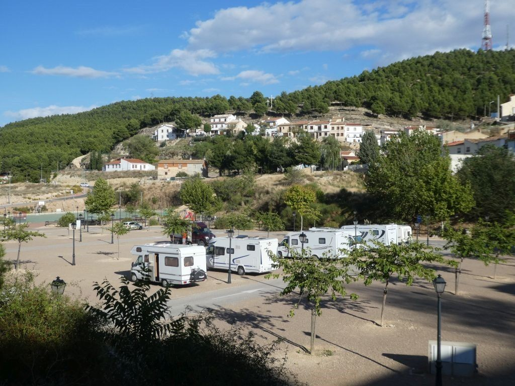 Stellplatz Chinchilla de Monte Aragon