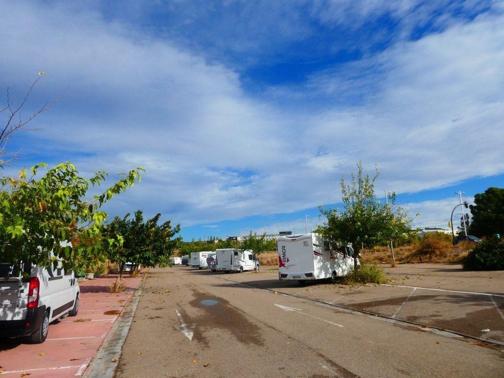 Stellplatz Saragossa